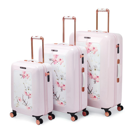 buy ted baker oriental blossom suitcase medium amara. Black Bedroom Furniture Sets. Home Design Ideas