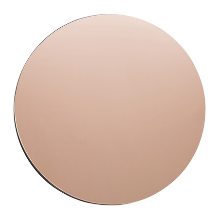House Doctor - Miroir Mural - Rond - Or Rose