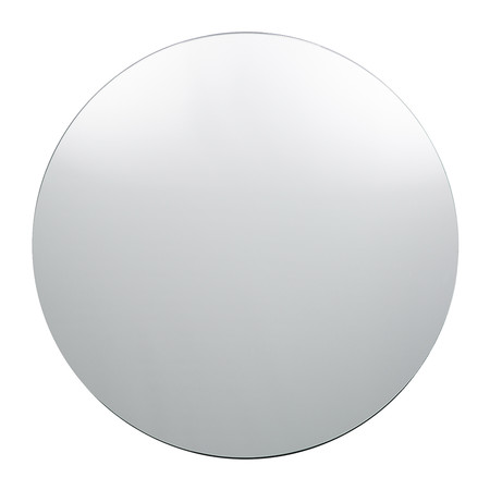 Buy house doctor large wall mirror round clear amara for Meuble 110x50