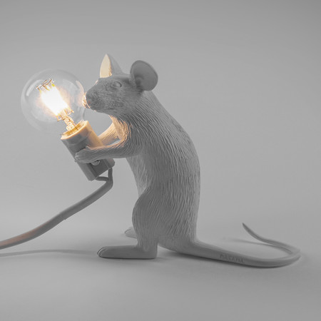 Seletti - Mouse Lamp - Sitting