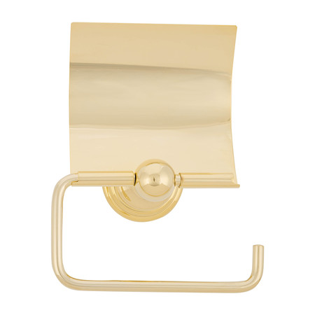Decor Walther - CLTPH4 Classic Toilet Paper Holder with Cover - Gold