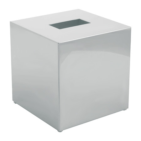 buy decor walther kb83 tissue box square chrome amara