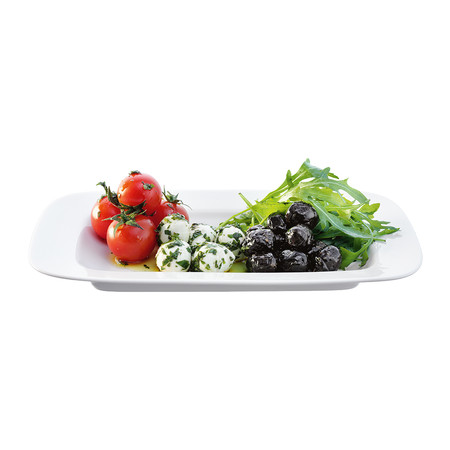 LSA International - Dine Rectangular Platters - Set of 2 - 15x26cm