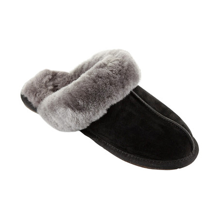 UGG® - Women's Scuffette II Slippers - Black/Grey