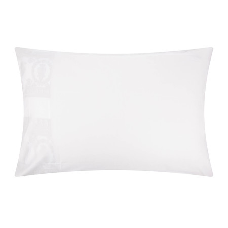Versace Home - Barocco&Robe King Size Pillowcase Pair - White/Gold
