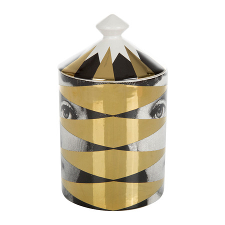 Fornasetti - Losanghe Scented Candle - Gold - 300g