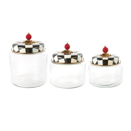 MacKenzie-Childs - Courtly Check Kitchen Canister - Small