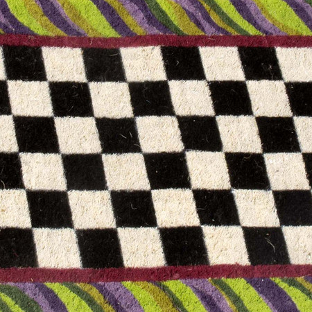 MacKenzie-Childs - Courtly Check Entrance Mat