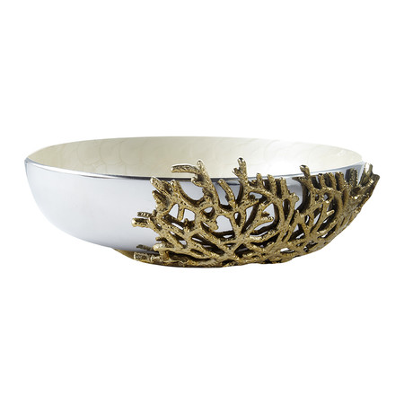 Julia Knight - Coral Bowl - Snow - 38cm