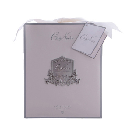 Côte Noire - Lillies & Roses in Clear Glass - Blush