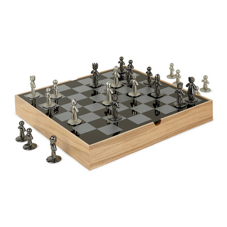 Buy umbra buddy chess set amara - Umbra chess set ...