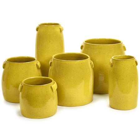 Serax - Tabor Pot - Yellow - Medium