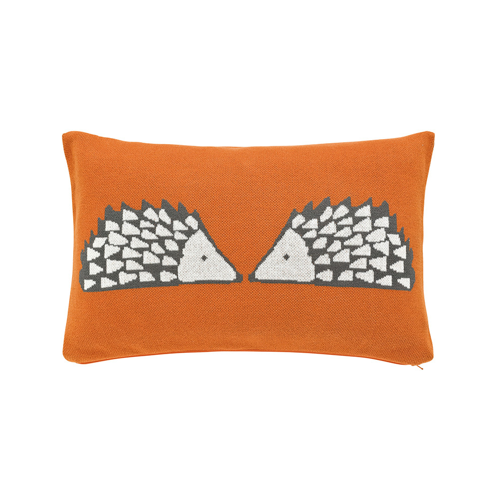 Scion  Spike The Hedgehog Cushion  30x50cm  Pumpkin