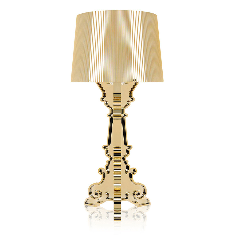 Kartell - Bourgie Lamp - Gold