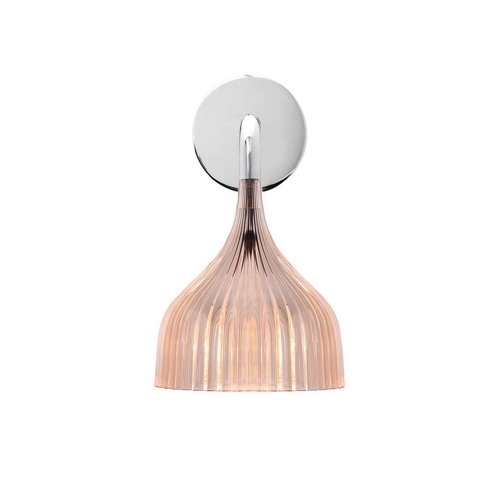 Buy Kartell E Wall Mounted Lamp - Rose Amara