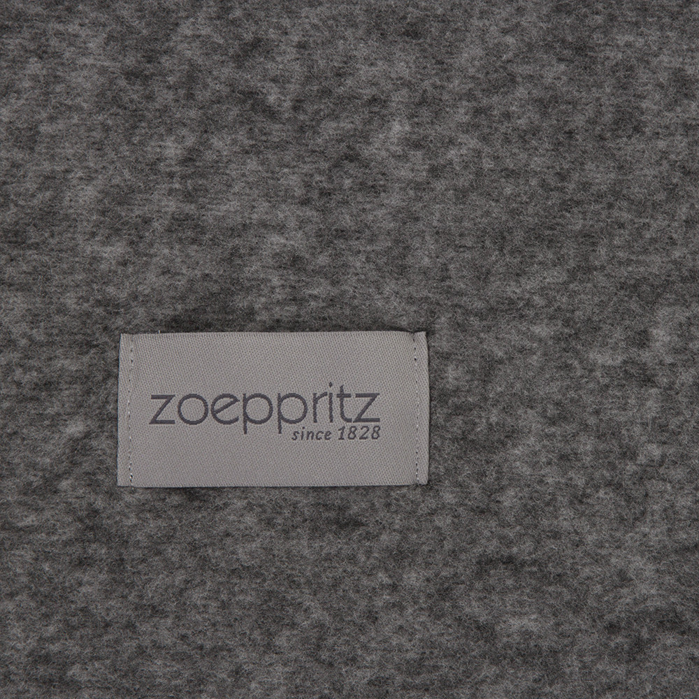 buy zoeppritz since 1828 soft wool blanket titanium amara. Black Bedroom Furniture Sets. Home Design Ideas