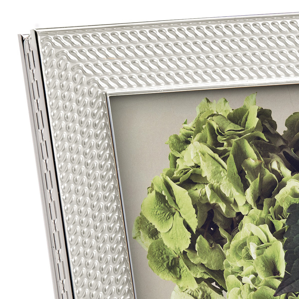 Vera Wang for Wedgwood - With Love Silver Photo Frame - 4x6""