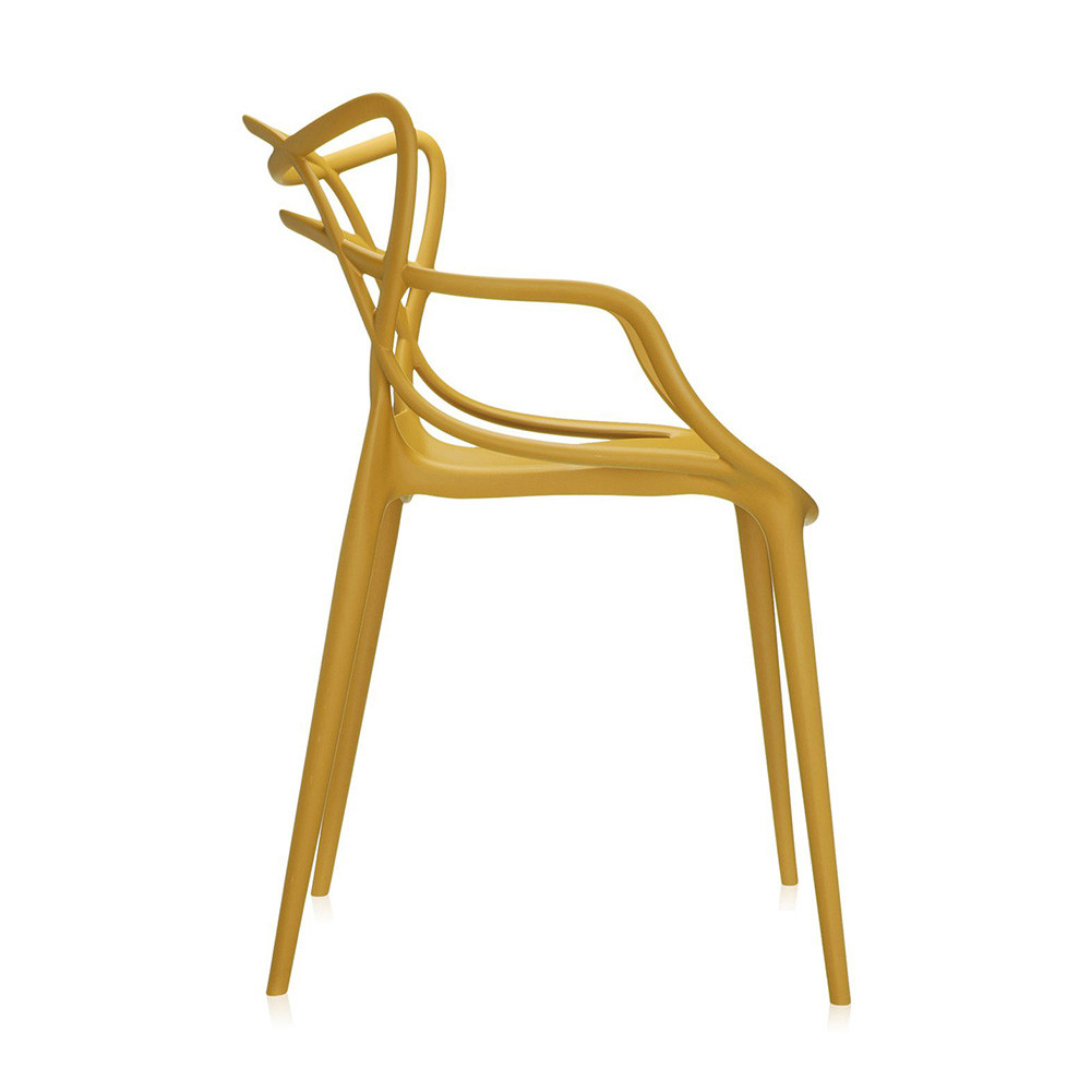 Buy Kartell Masters Chair   Mustard | Amara