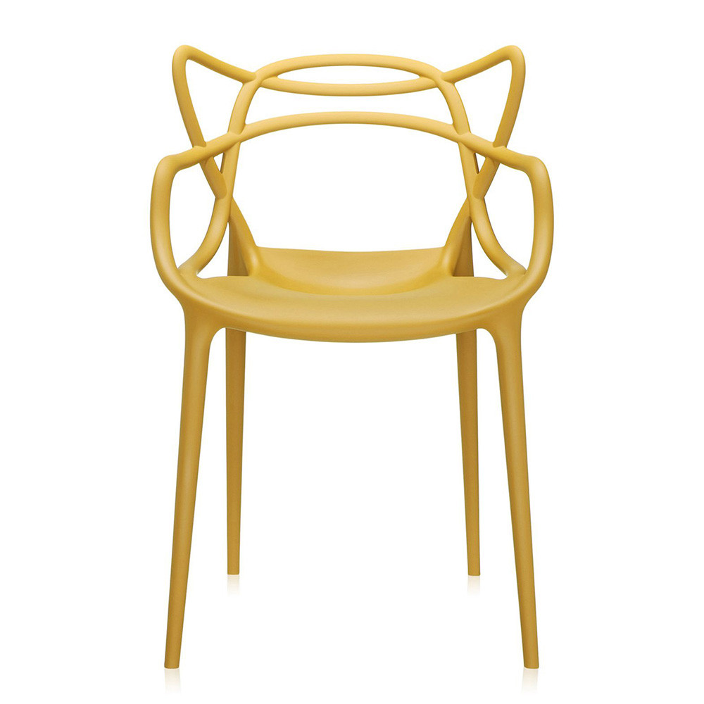Kartell - Masters Chair - Mustard