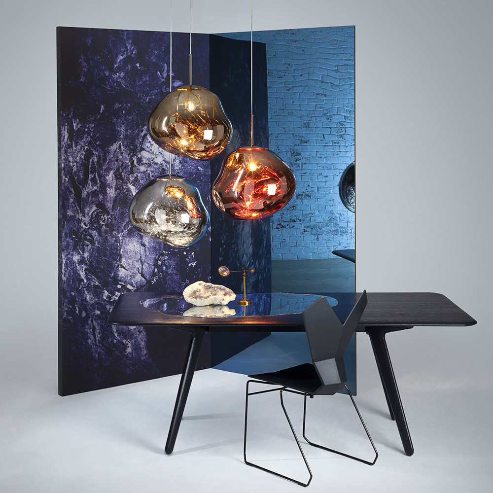 buy tom dixon melt chrome pendant light amara. Black Bedroom Furniture Sets. Home Design Ideas