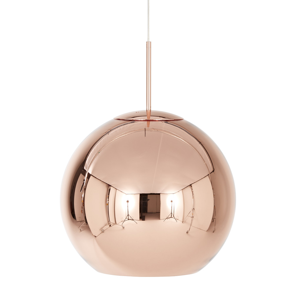 buy tom dixon copper pendant light amara. Black Bedroom Furniture Sets. Home Design Ideas