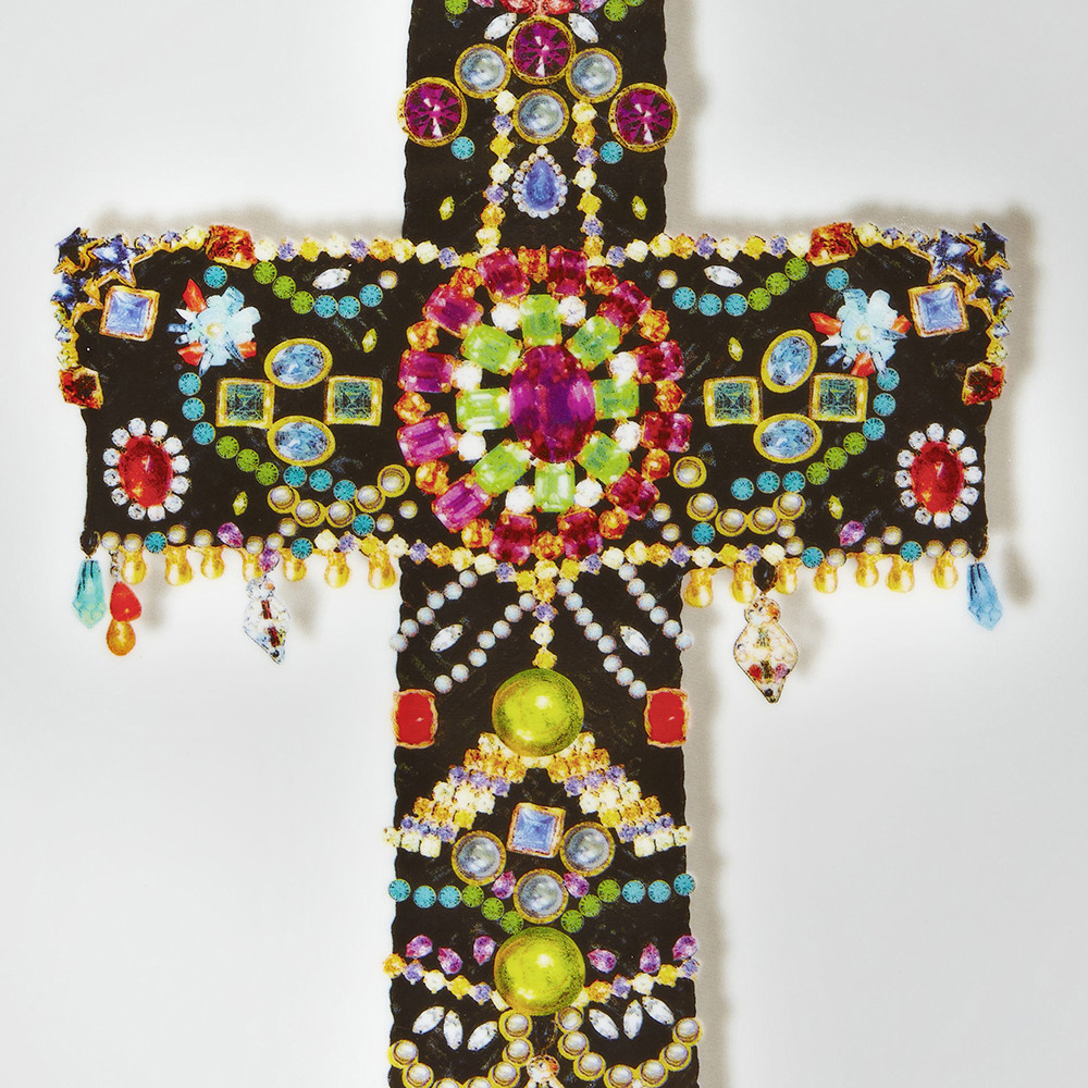 Christian Lacroix - Love Who You Want - 'Black Cross' Plate