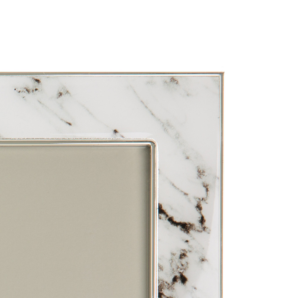 Addison Ross - White Marble Photo Frame - 8x10""