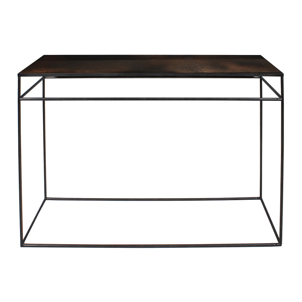 100 mirror console table mirrored furniture mirrored mirror console table buy notre monde heavy aged mirror console bronze copper amara mirror console table geotapseo Image collections