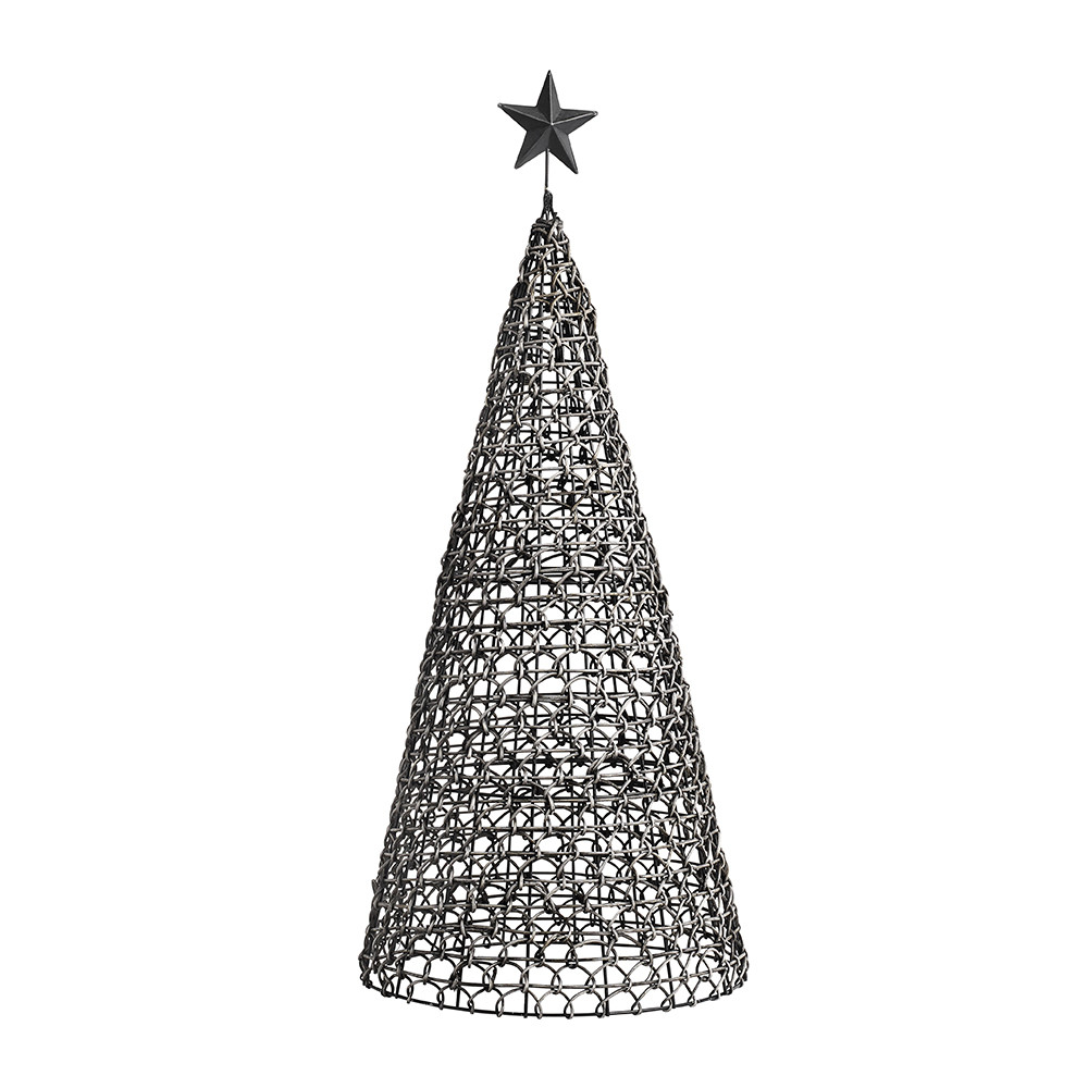 buy nordal rattan metal christmas tree ornament amara