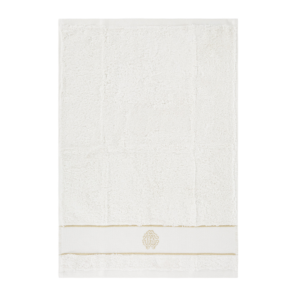 Roberto Cavalli - Gold Towel - Ivory - Guest Towel