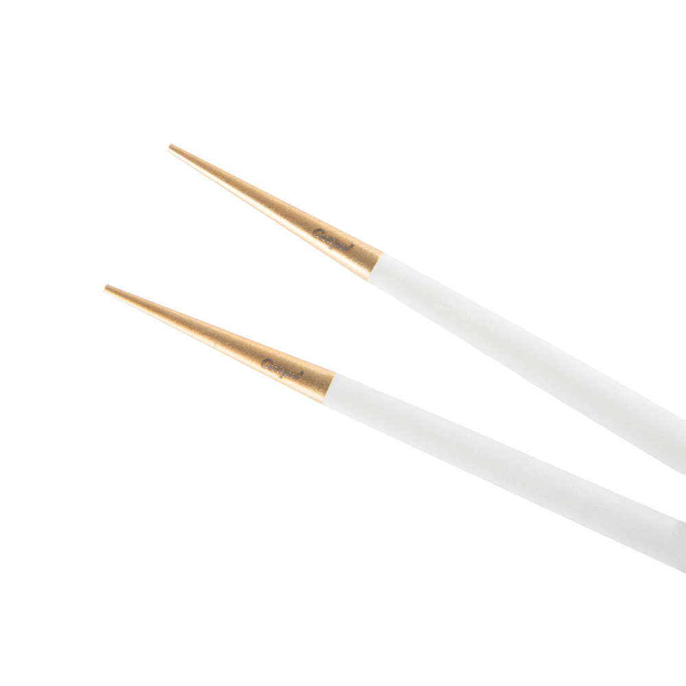 Cutipol - Goa Chopstick Set - Matt White Gold
