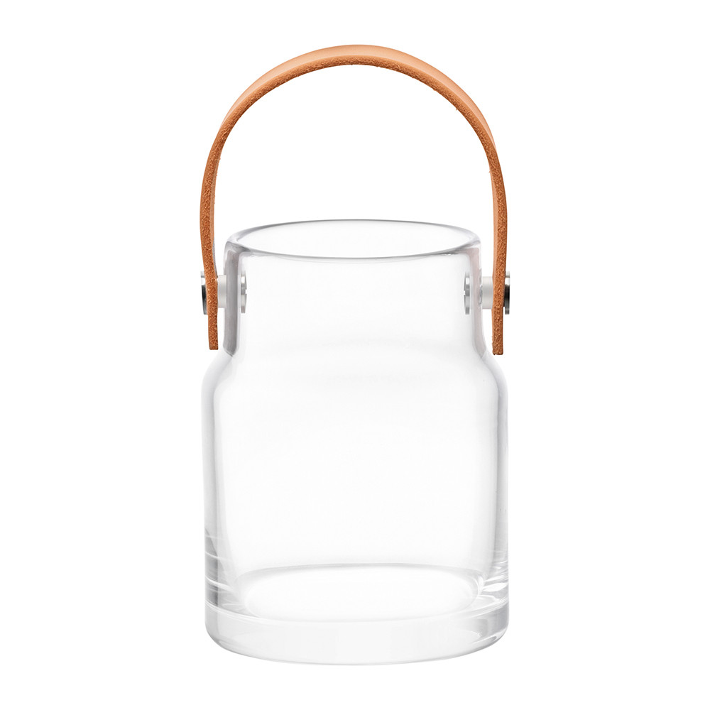 LSA International - Utility Pot & Leather Handle - Clear - 18.5cm
