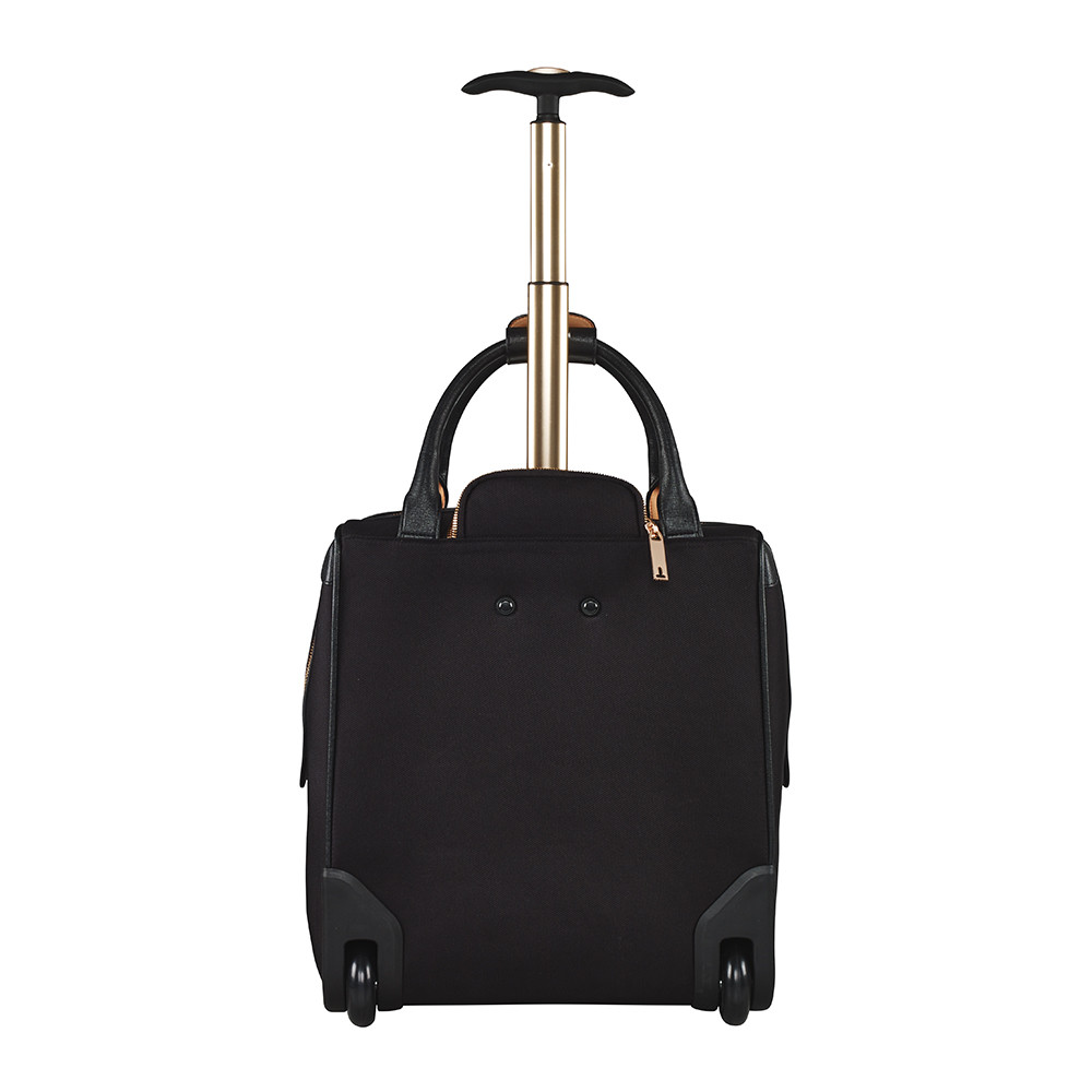 b47a388107ea Buy Ted Baker Albany Softside 2 Wheel Business Bag - Black
