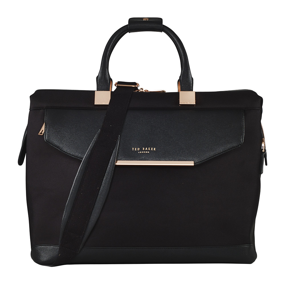 Ted Baker - Albany Softside Clipper Holdall - Small - Black
