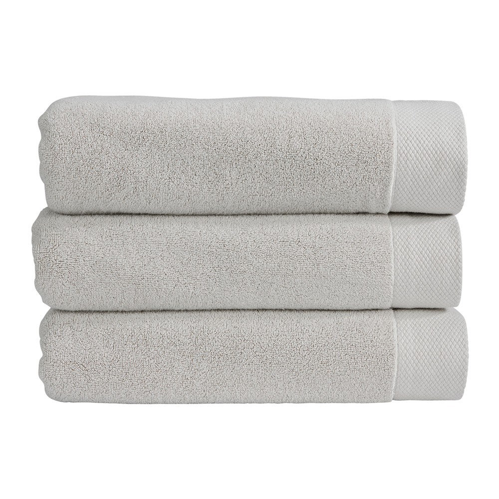 buy christy luxe towel french grey bath towel amara. Black Bedroom Furniture Sets. Home Design Ideas