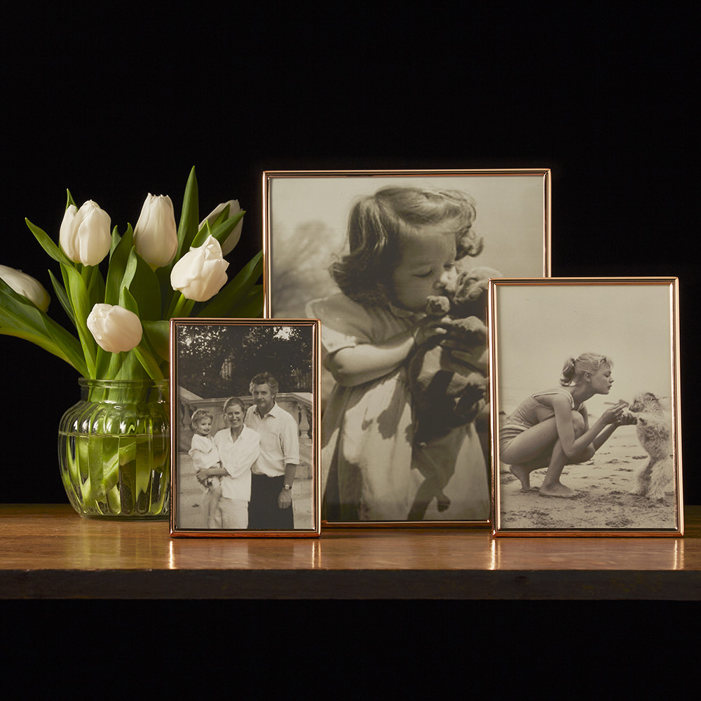 Buy Addison Ross Thin Rose Gold Photo Frame 8x10 Amara