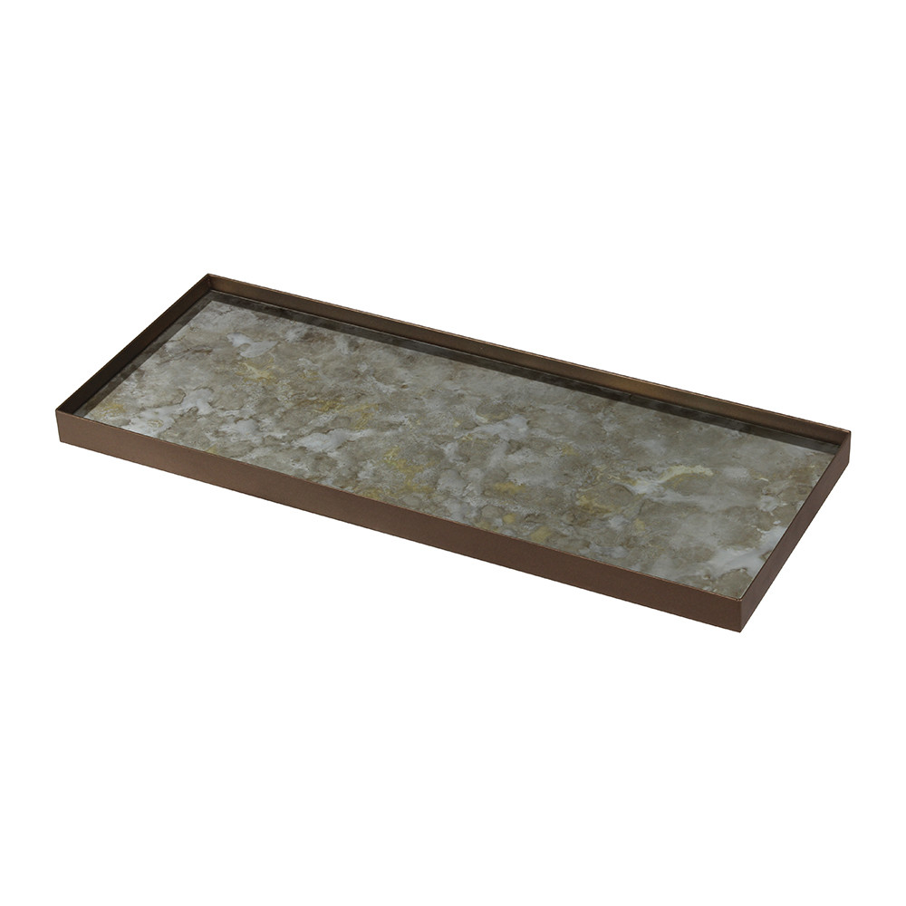 Notre Monde - Fossil Organic Glass Tray - Large