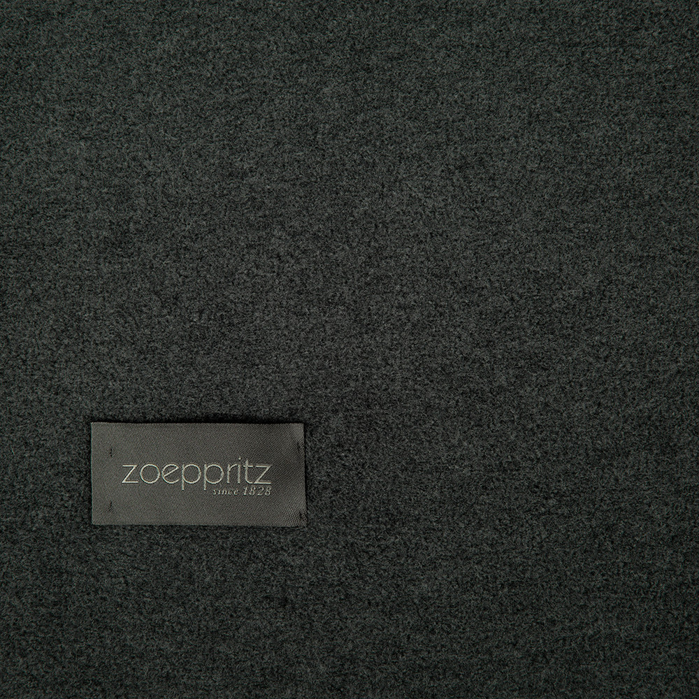 Zoeppritz since 1828 - Large Soft Fleece Blanket - Anthracite