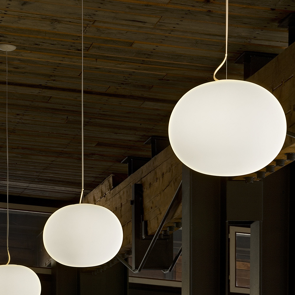 Buy flos glo ball ceiling light white amara mozeypictures Gallery