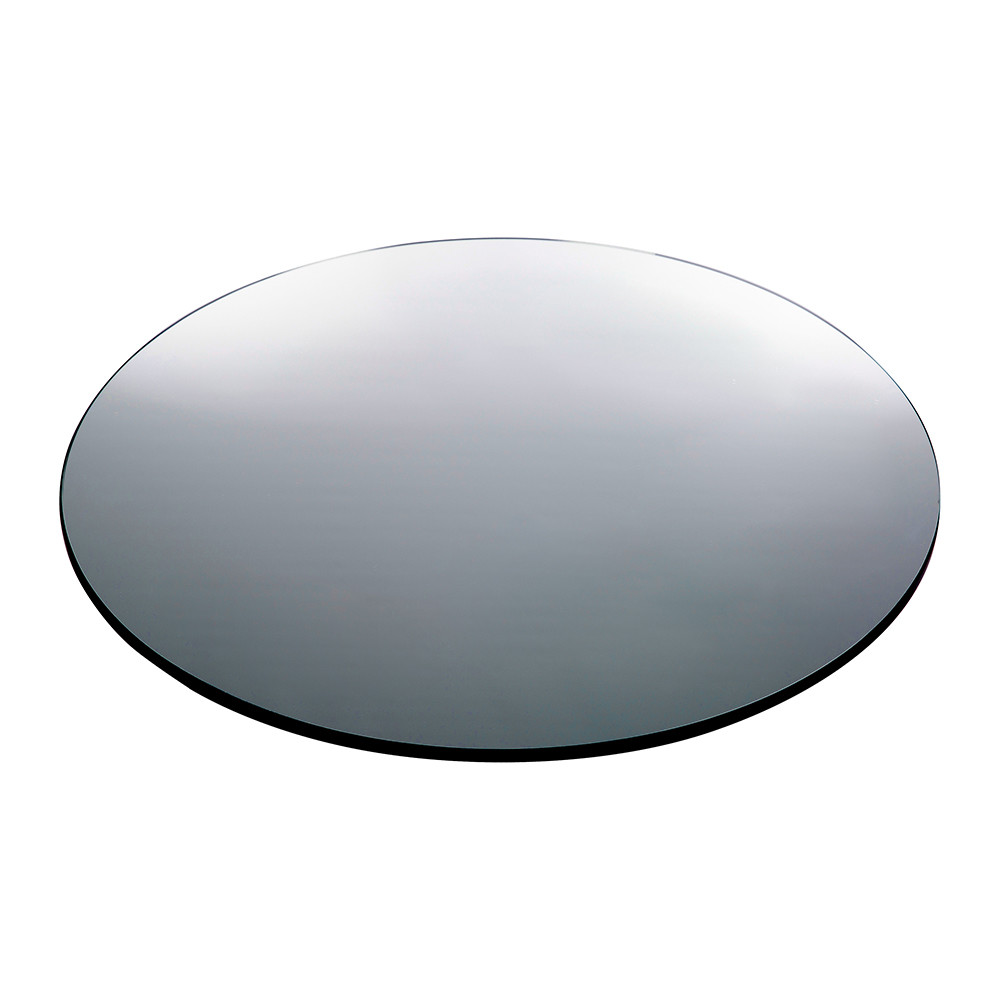 buy house doctor large wall mirror round grey amara. Black Bedroom Furniture Sets. Home Design Ideas