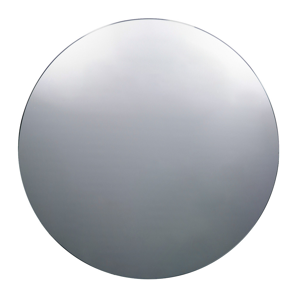 Buy house doctor large wall mirror round grey amara for Long grey wall mirror
