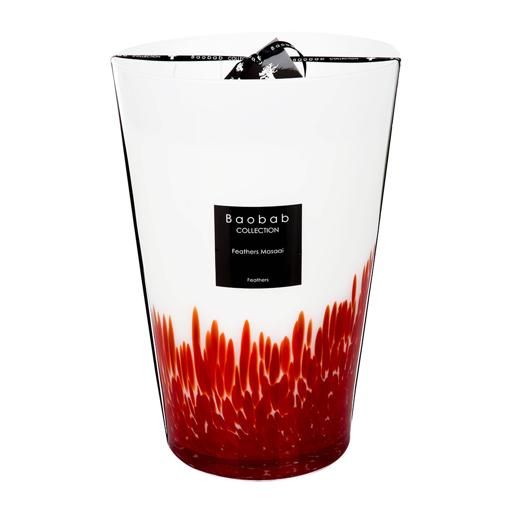 Baobab Collection - Feathers Masaai Scented Candle - 35cm