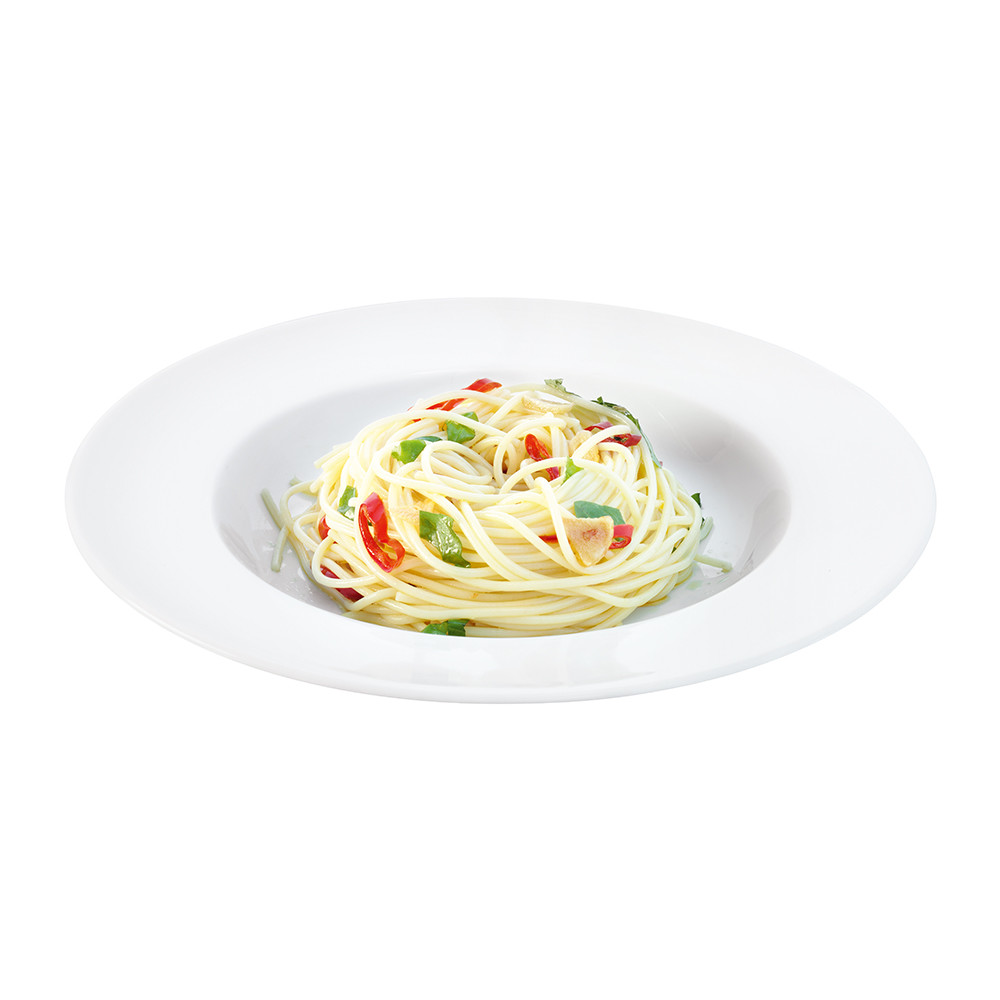 LSA International - Dine Rimmed Pasta Plates - Set of 4 - 30cm
