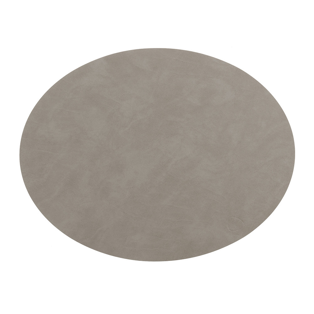 LIND DNA - Oval Table Mat - Gray