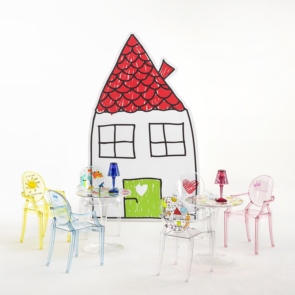Kartell - Children's Lou Lou Ghost Chair - Sketch