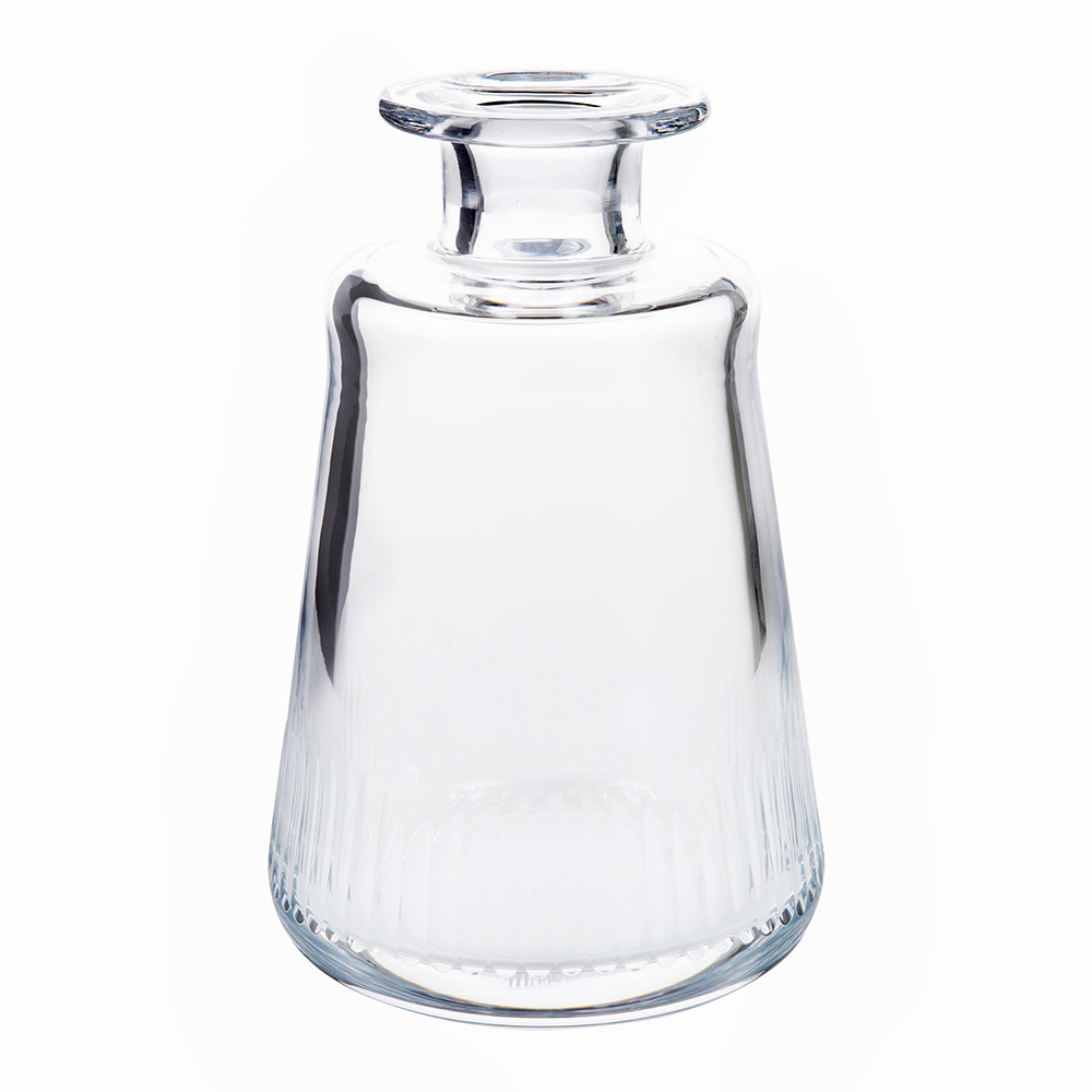 Moser - Conus Old Fashioned Decanter - Cut Grooves - Clear