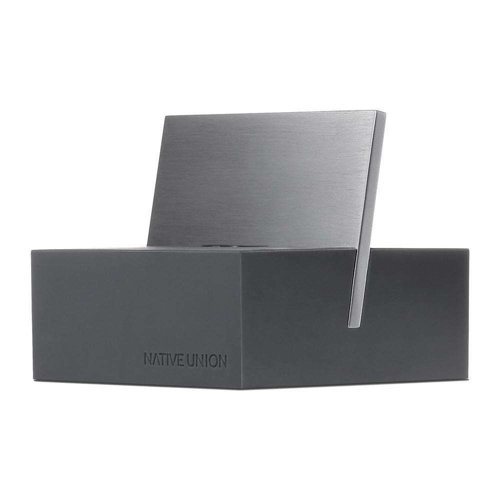 Native Union - iPhone Lightning Charging Dock+ - Slate