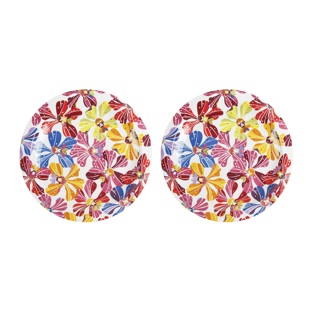 Missoni Home China: Buy Missoni Home Flowers - 22cm Side Plate - Set Of 2
