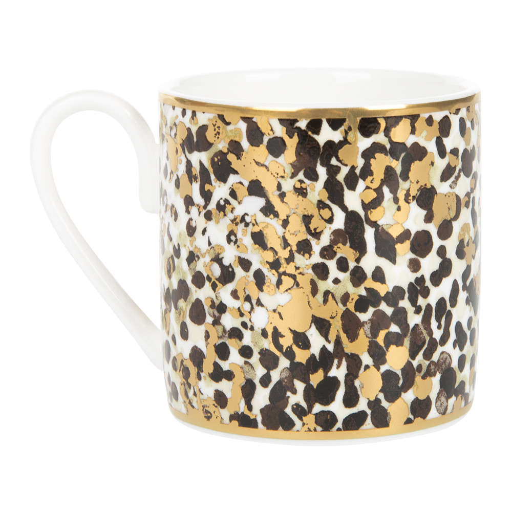 Roberto Cavalli - Camouflage Coffee Cup & Saucer