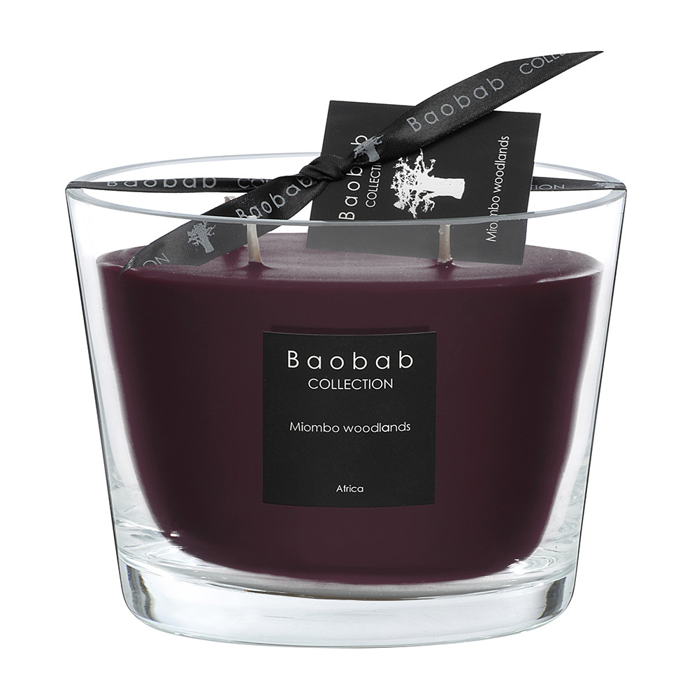 Baobab Collection - All Seasons Scented Candle - Miombo Woodlands - 10cm